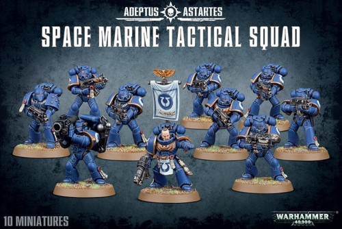 Space Marines - Tactical Squad - Warhmammer 40,000