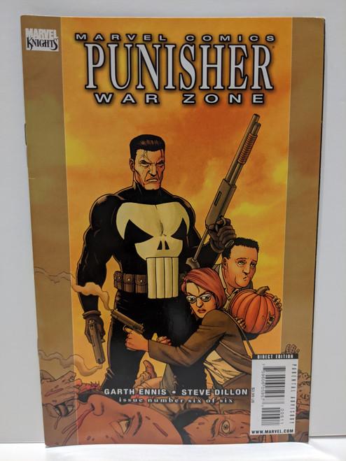 Punisher: War Zone #6 - 2009 - Marvel Comic - FN