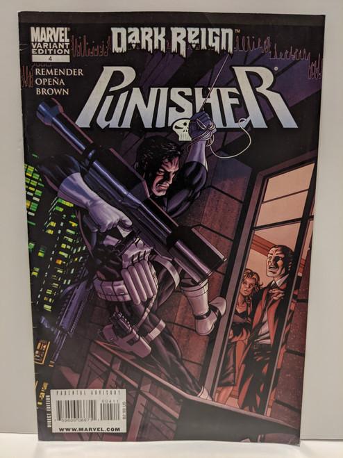 Punisher: Dark Reign #4 - 2009 - Marvel Comic - VG