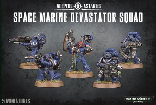 Space Marines Devastator Squad - Warhammer 40,000