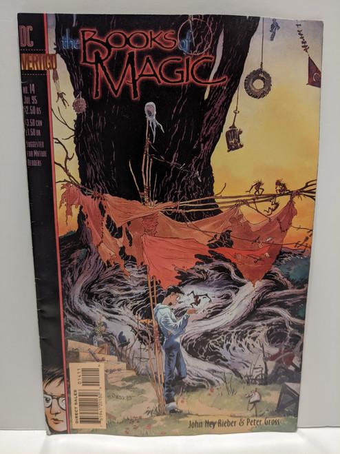 Books Of Magic #14 - 1995 - DC/Vertigo - VG