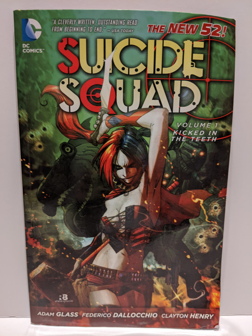 The New 52 Suicide Squad Volume 1: Kicked In The Teeth - 2012 - DC Paperback - PR
