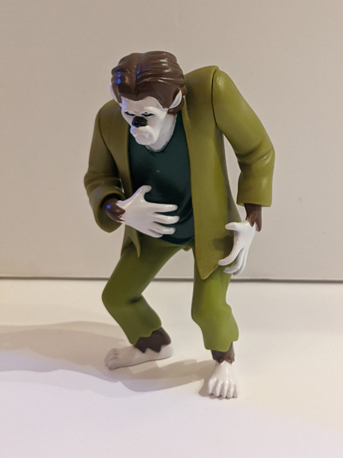 Scooby Doo 50th Anniversary Wolfman Action Figure - 2011 - Hanna-Barbera - VG