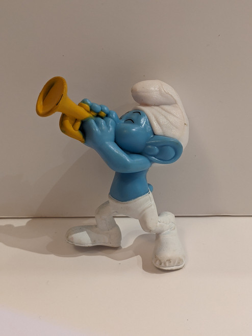 The Smurfs Harmony Figure - 2013 - McDonalds - VG