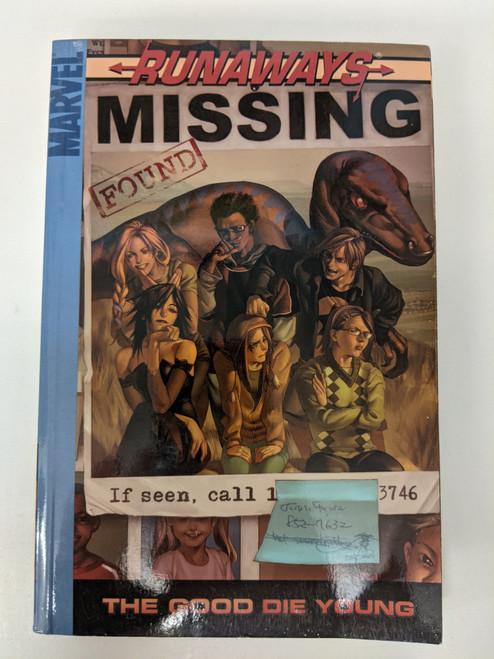 Runaways: Missing - 2005 - Marvel Graphic Novel - VG