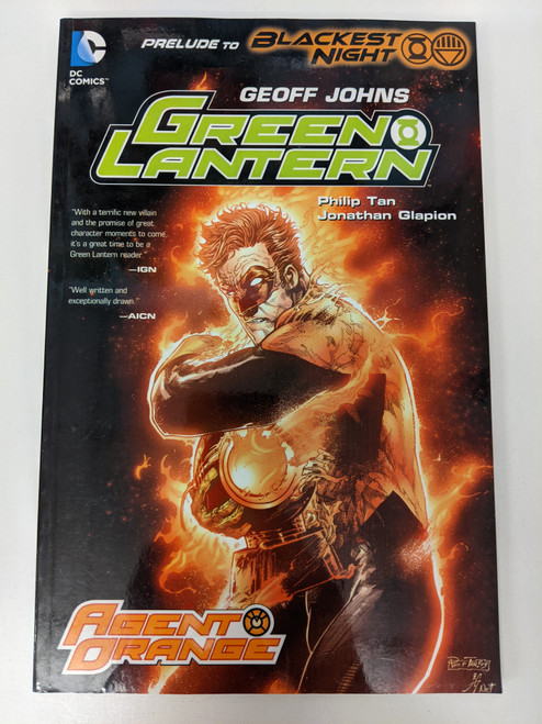 Green Lantern: Agent Orange - 2009 - DC Graphic Novel - FN
