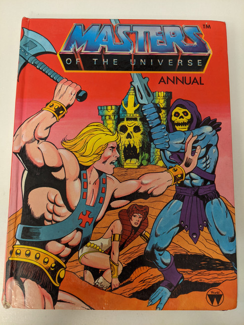 Masters Of The Universe Annual - 1984 - Mattel - FR