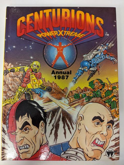 Centurions PowerXtreme Annual - 1987 - Kenner - VG