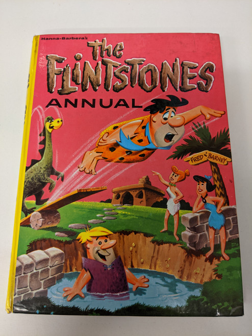 The Flintstones Annual - 1963 - Hanna-Barbera - GD