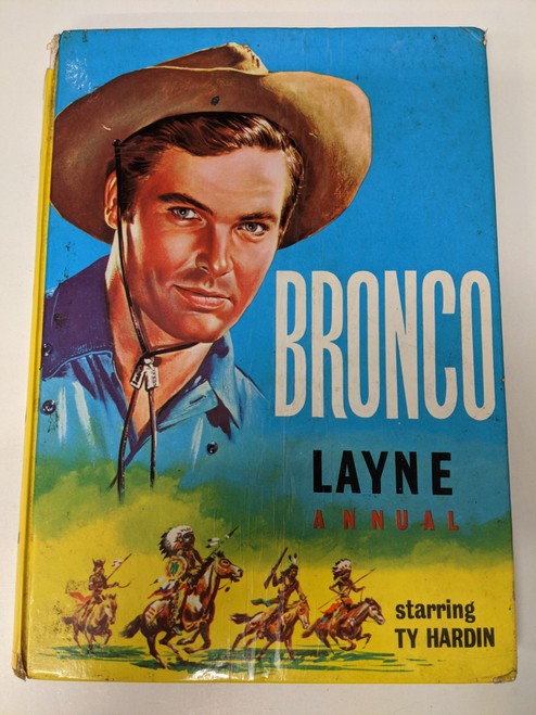 Bronco Layne Annual - 1963 - Western Printing And Lithographing Co. - FR