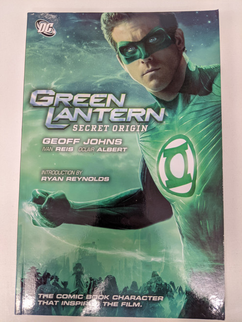 Green Lantern: Secret Origin - 2011 - DC Paperback - VG