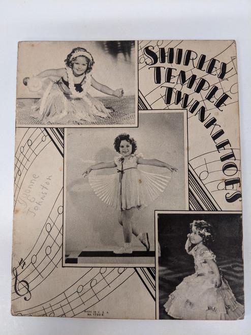 Shirley Temple Twinkletoes - 1936 - Saalfield Publishing Company - GD