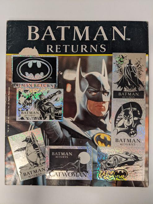 Batman Returns Sticker Book - 1992 - DC - GD