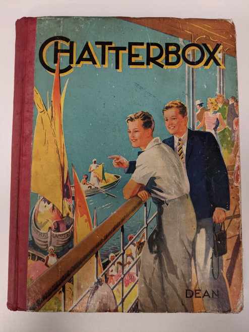 Chatterbox Annual - 1945 - Dean & Son Ltd - VG