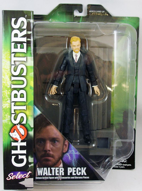 "Walter Peck - Ghostbuster Diamond Select - 6"" Action Figure - Series 4"