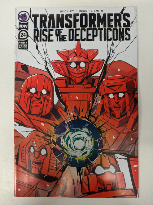Transformers: Rise Of The Decepticons #24 - 2020 - IDW Comic - NM