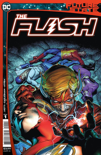 Future State: The Flash #1 - DC Comics - Released 5th Jan 2021