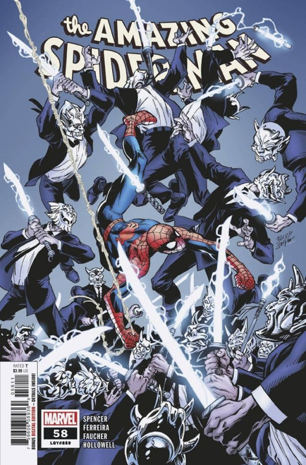 The Amazing Spiderman #58 - Marvel Comic - Released 27th Jan 2021