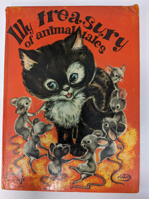 My Treasury Of Animal Tales - 1970's - Brimax Books - FR