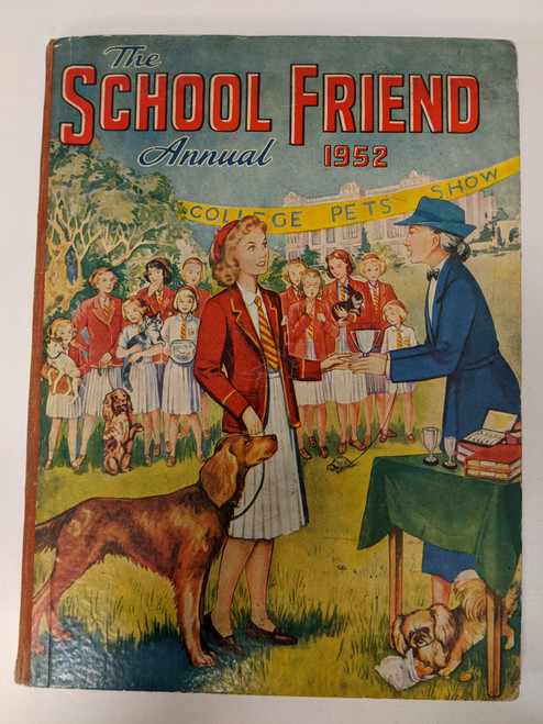 The School Friend Annual - 1952 - Fleetway House - FR
