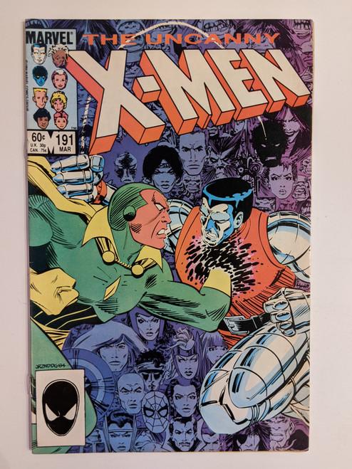 Uncanny X-Men (Volume 1) #191 - First Appearance Of Nimrod - 1985 - Marvel Comics - FF