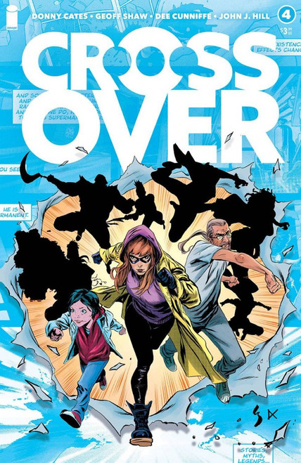 Crossover #4 - Image Comic - Released February 24, 2021