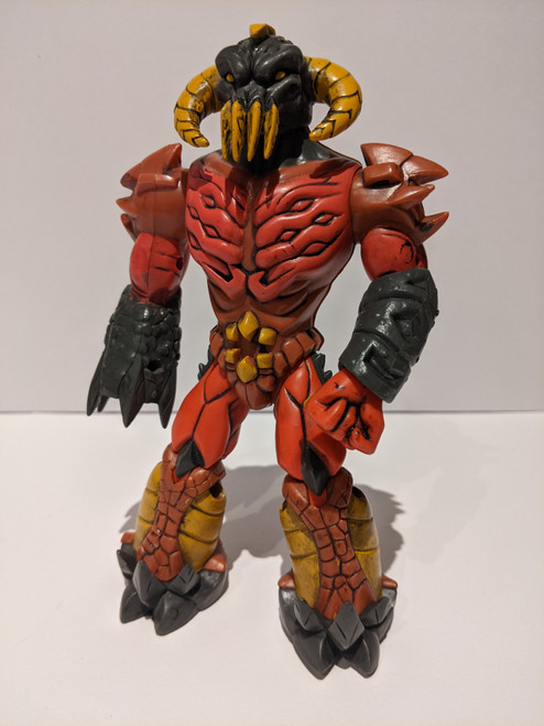 Gormiti: The Lords Of Nature Return! Volcano Action Figure - 2005 - Giochi Prezios/Marathon Media - Missing Fireball Missile