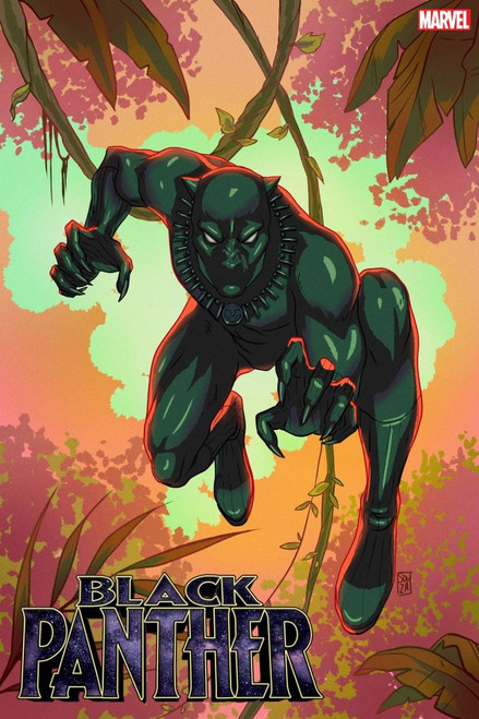 Black Panther #23 - Marvel Comic - Souza Black Panther Black History Month Variant - Released 24th Febuary 2021