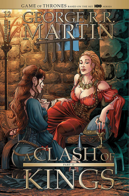 George R.R. Martin's A Clash Of Kings #12 (Cover A Miller) - Dynamite Comic - Released 24th Febuary 2021