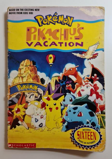 Pokemon: Pikachu's Vacation - 1999 - Scholastic Paperback - FR