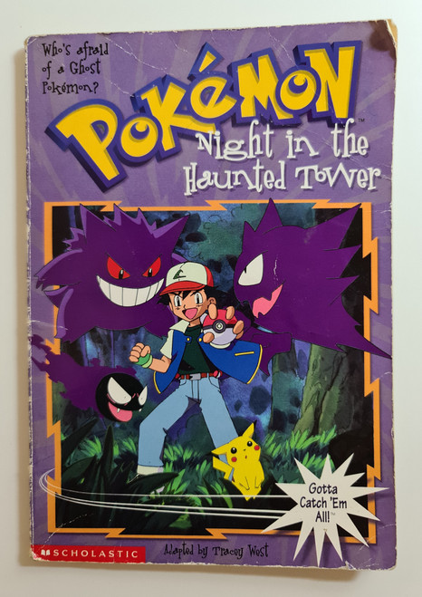 Pokemon: Night In The Haunted Tower - 1999 - Scholastic Paperback - GD