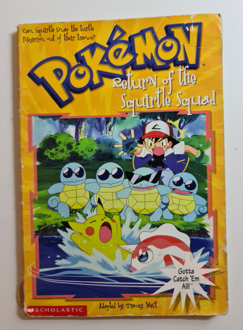 Pokemon: Return Of The Squirtle Squad - 1999 - Scholastic Paperback - FR