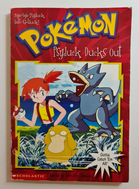 Pokemon: Psyduck Ducks Out - 1999 - Scholastic Paperback - GD