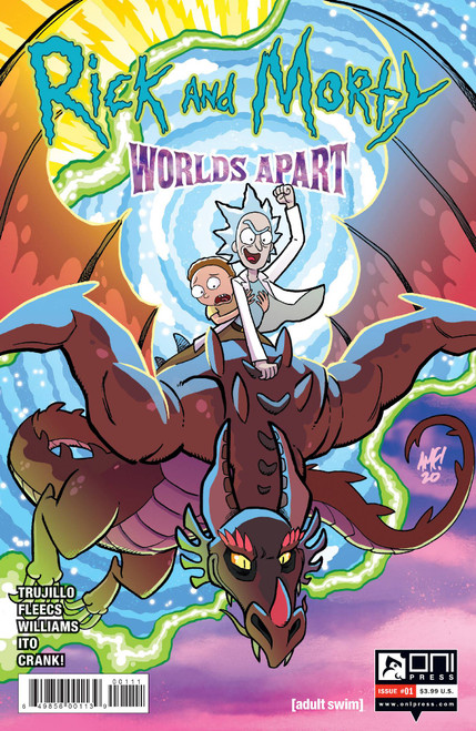 Rick And Morty: Worlds Apart #1 - ONI Press Comic - Released 3rd Febuary 2021