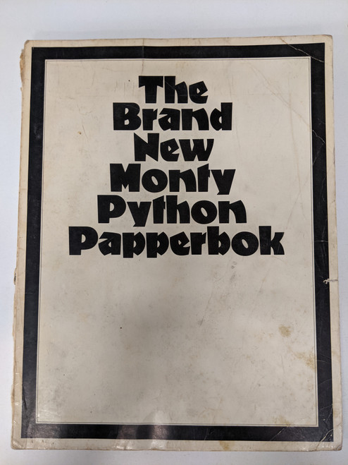 The Brand New Monty Python Papperbok - 1973 - Methuen Publishing - FR
