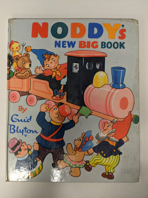 Noddy's New Big Book - 1965 - Sampson Low/Marston & Co. - GD