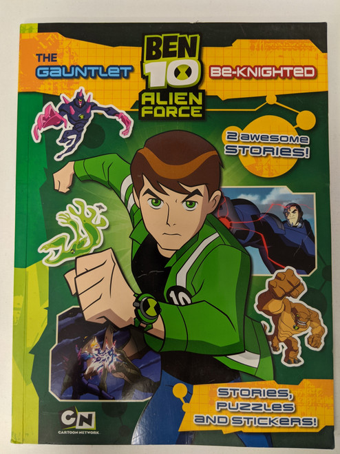 Ben 10: The Gauntlet and Be-knighted - 2009 - Egmont Books Ltd - GD