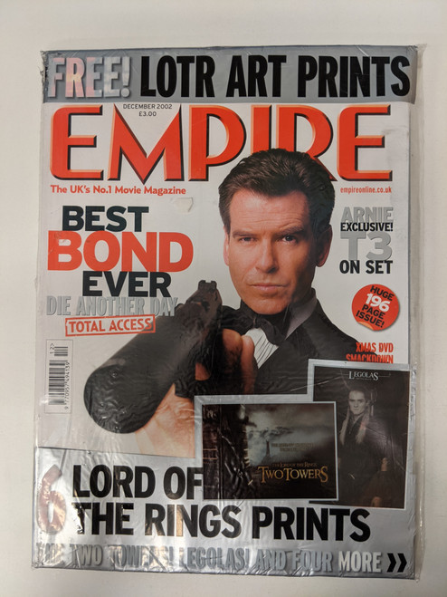 Empire Magazine December 2002 - Includes Free Lord Of The Rings Prints - New/Sealed