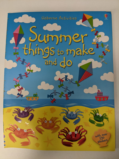 Summer Things To Make And Do - 2013 - Usbourne Publishing Ltd - VG