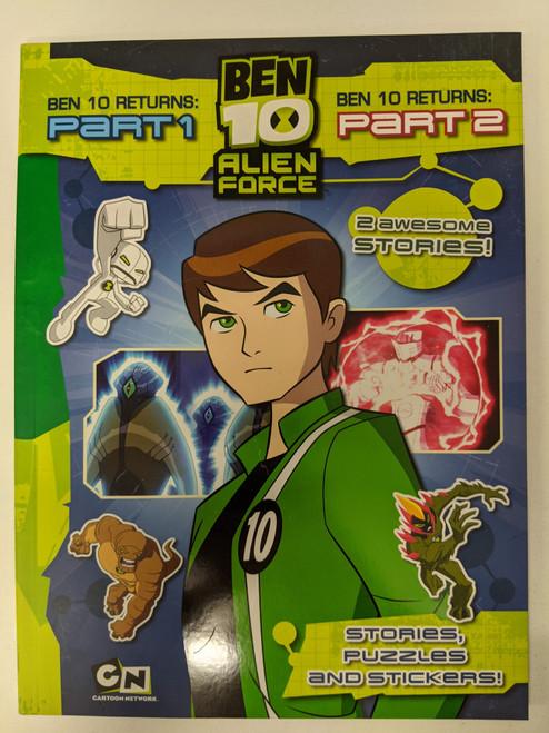 Ben 10 Alien Force: Ben 10 Returns Part 1 and 2 - 2009 - Egmont Books Ltd - GD