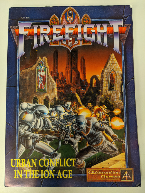 Firefight: Urban Conflict In The Ion Age (Alternative Armies) - 1999 - Noble Knight Games - GD