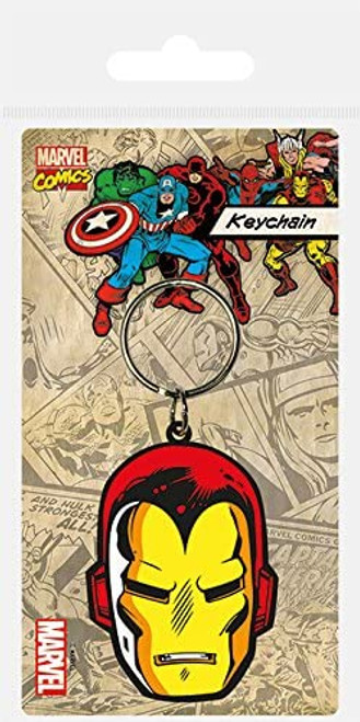 Iron Man Rubber Keyring - Marvel Comics