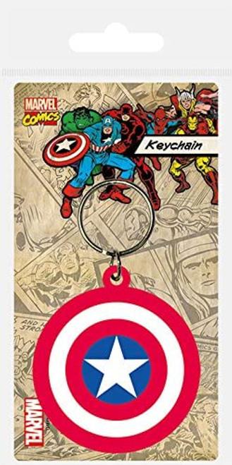 Captain America Shield Keyring - Marvel Comics