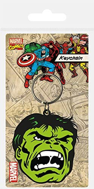 The Incredible Hulk Rubber Keyring - Marvel Comics