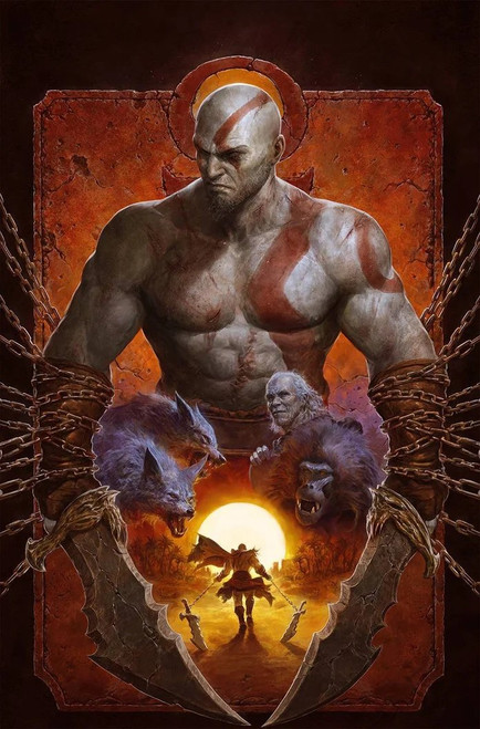 God Of War: Fallen God #1 - Dark Horse Comic - 10/3/21