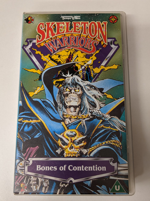 Skeleton Warriors: Bones Of Contention - 1995 - Abbey Home Media VHS - GD