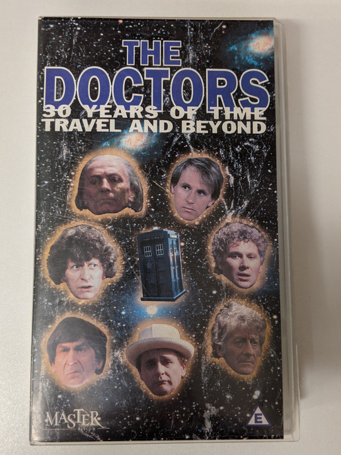 The Doctors: 30 Years of Time Travel and Beyond - 1995 - Mastervision VHS - GD