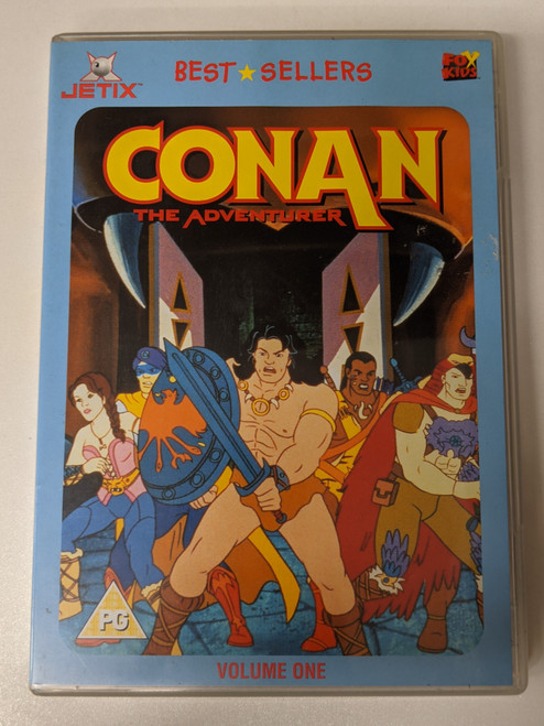 Conan The Adventurer: Volume 1 - 2004 - Fox Kids DVD - GD