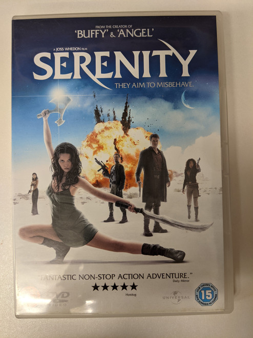 Serenity - 2005 - Universal Pictures DVD - GD