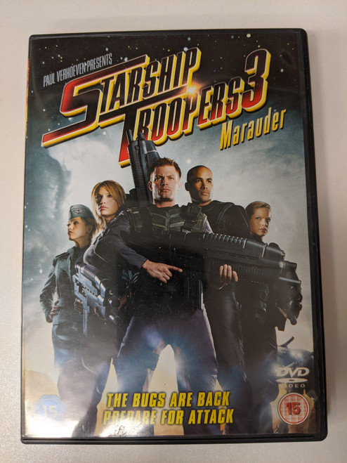 Starship Troopers 3: Marauder - 2008 - Sony Pictures DVD - GD